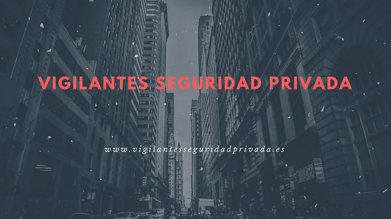 vigilantes seguridad privada