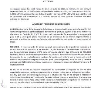 acta nº 9