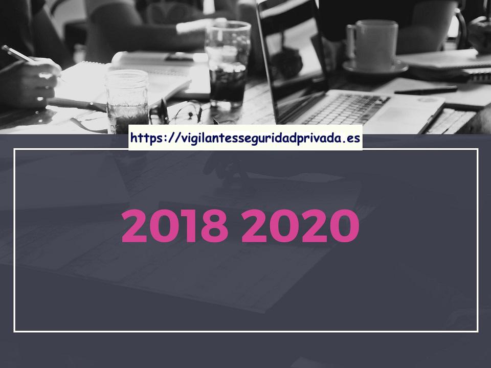 Convenio 2018-2020