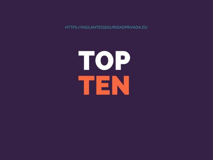TOP TEN de empresas de seguridad del mundo