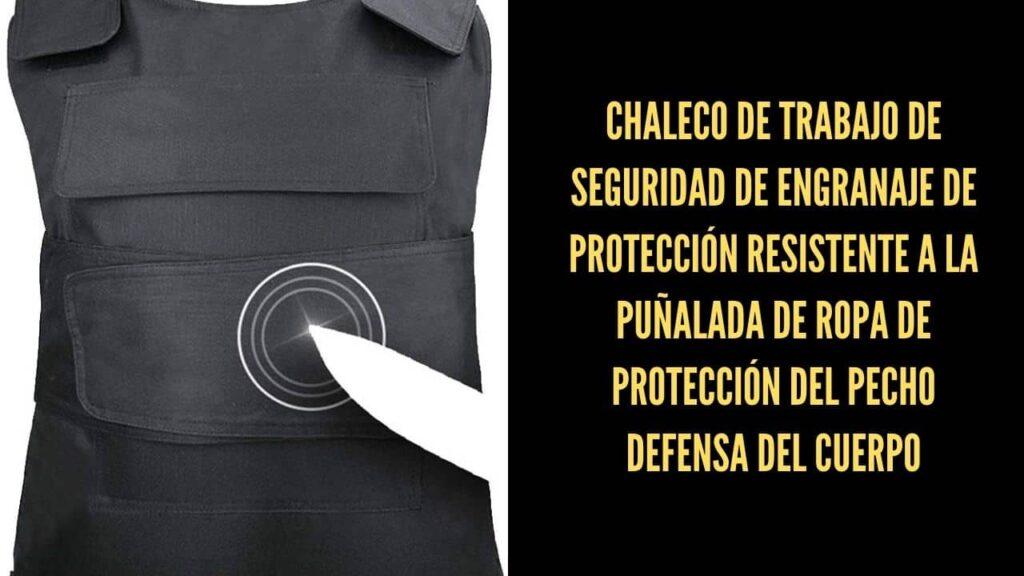chaleco protección