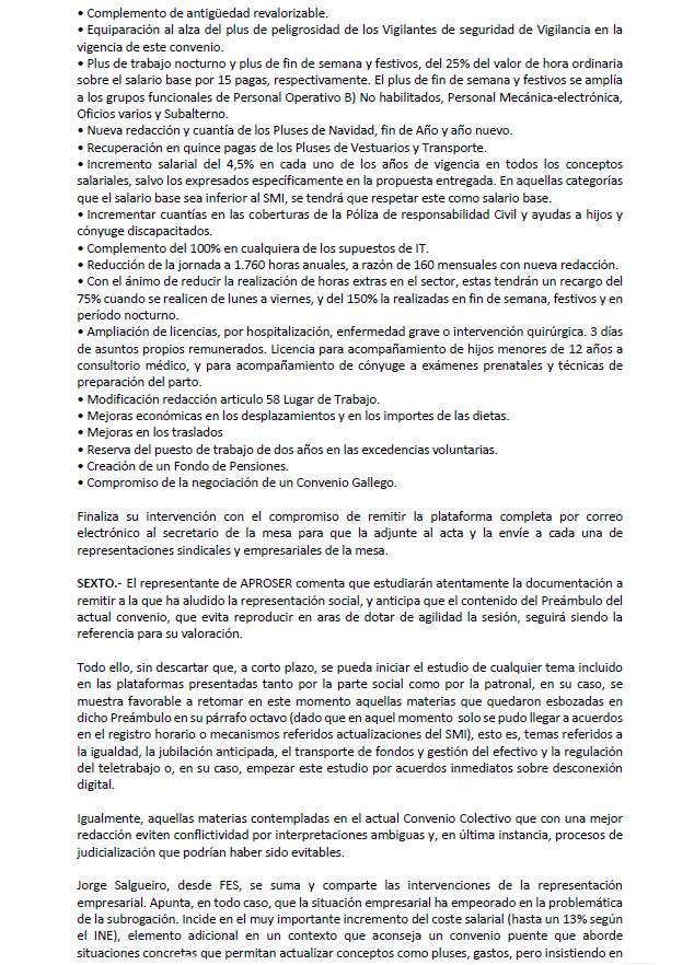 Negociación convenio 2022 seguridad privada acta 3.3